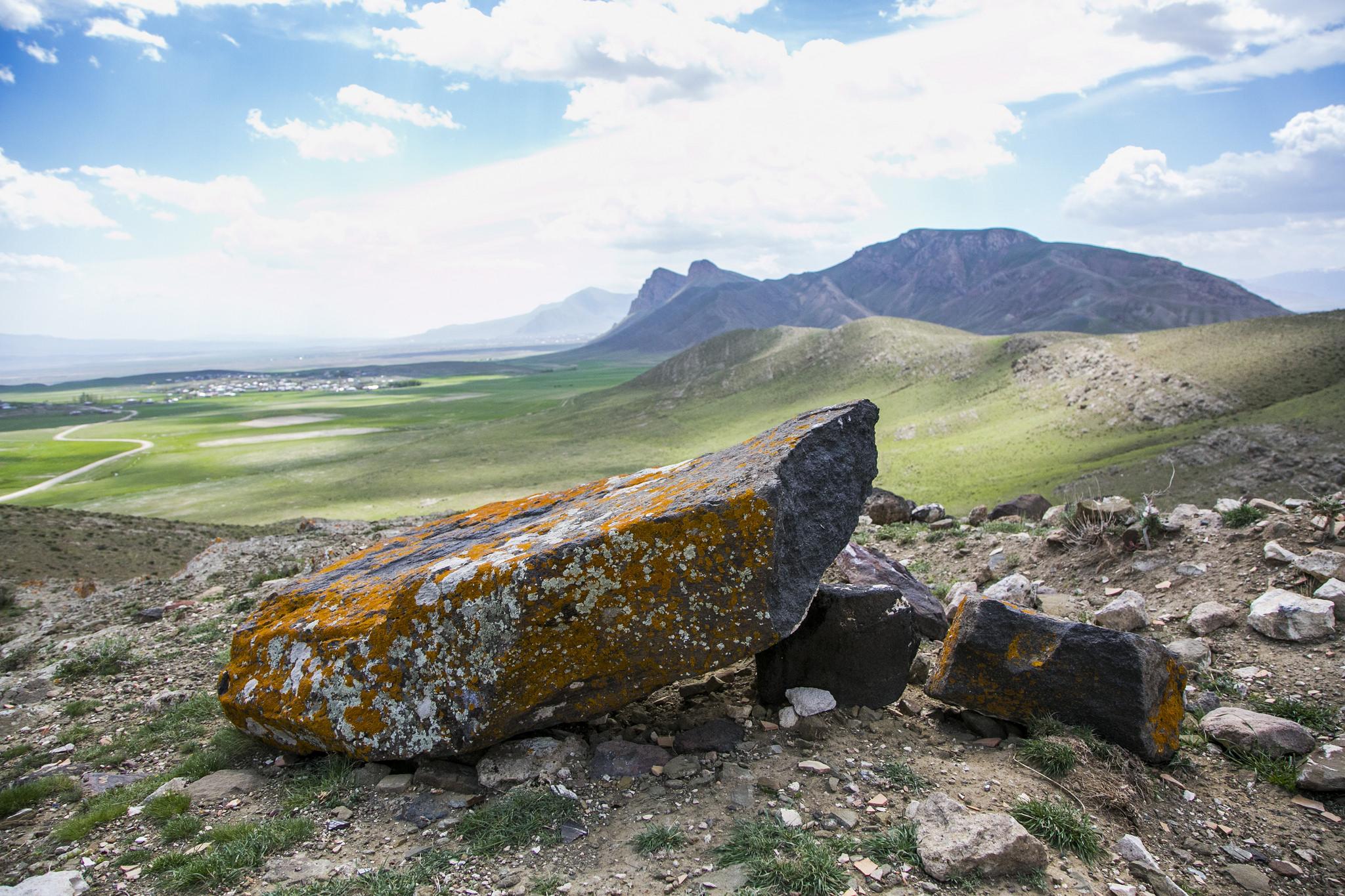 Drogue anchor stone. Sağlıksuyu Arzap Kazan, east Turkey.
